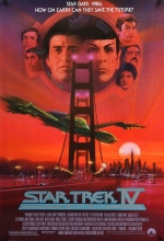 Star Trek 4 The Voyage Home Poster