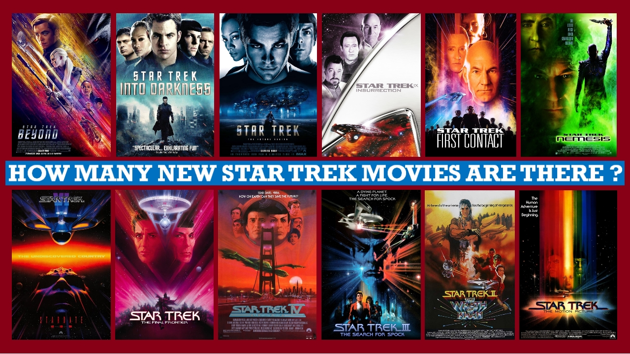 How Many New Star Trek Movies Are There, Star Trek Generations
