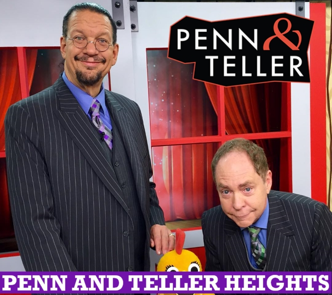 Penn and Teller Height, Real Life
