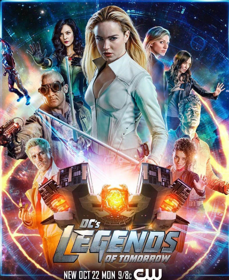 Legends of Tomorrow Series Poster