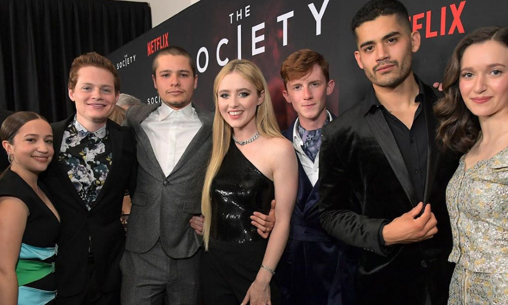 The Society TV Series Cast and Crew, Netflix Web