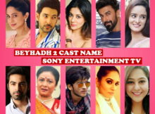 Beyhadh 2 Cast Name, Sony TV Series, Stars, Crew, Genre, Premier, Start, Timing, Wiki, Images, Pics