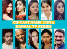 CIF Cast Name List 5, Dangal TV Series, Crew, Wiki, Schedule, Genre, Premier, Start, Story Based, Timing, Images, IMDb, More