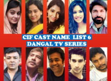 CIF Cast Name List 6, Full Star Cast, Dangal TV Show, Crew, Genre, Start, Story Based, Timing, Premier, Schedule, TV Series, Images, IMDb