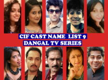 CIF Cast Name List 9, Crew, Wiki, Dangal TV Series, Stars, Premier, Genre, Start, Story Premise, Timing, Images, IMDb, Pictures