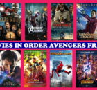 MCU Movies in Order, List of Marvel Movies in Order, Avengers Franchise