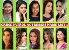 Crime Patrol Actress Name List 2016, Crew Members, Sony TV Show, Crime Patrol Female Cast 2016, Genre, Premise, Start Date, Timing, Pictures