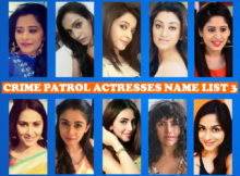 Crime Patrol Actress Name List 3, Crime Patrol Female Cast List 3, Crew Members, Sony TV Show, Start Date, Timing, Pictures, Genre, Premise
